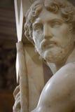 Cristo que leva a cruz Fotografia de Stock Royalty Free