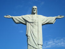 Cristo Redentor - Χριστός ο απελευθερωτής Στοκ φωτογραφία με δικαίωμα ελεύθερης χρήσης