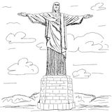 Cristo redentor Stock Photos