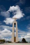 Cristo Rei em Lisboa Imagens de Stock