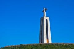 Cristo Rei em Lisboa, Portugal Foto de Stock
