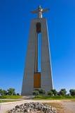 Cristo Rei a Lisbona, Portogallo Fotografie Stock