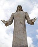 Cristo Rey, Pachuca Hidalgo Mx. Pic of the Statue of Cristo Rey in Pachuca Hidalgo México Stock Photo