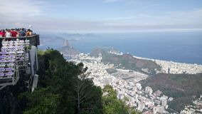 Cristo up, Río de Janeiro Stock Photography