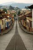 cristobal улица san стоковое фото