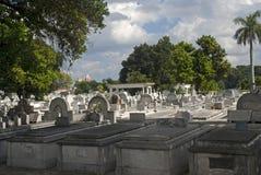 Cristobal Colon Cemetery, Havana, Cuba Stock Photo