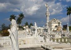 Cristobal Colon Cemetery, Havana, Cuba Royalty Free Stock Photo