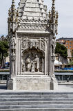 Cristobal colon, Image of the city of Madrid, its characteristic Royalty Free Stock Photo