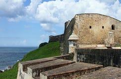 cristobal fort san Arkivbilder