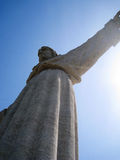 cristolisbon portugal rei Royaltyfri Foto