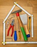 Housebuildung Photo libre de droits