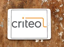 Criteo reciblant le logo de société Photographie stock libre de droits