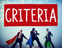 Criteria Controlling Follow Guidelines Conduct Concept Stock Image