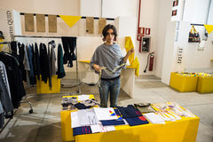 So Critical So Fashion exhibition in Milan on September 20, 2013. MILAN, ITALY - SEPTEMBER 20: So Critical So Fashion exhibition in Milan on September, 20 2013 stock images