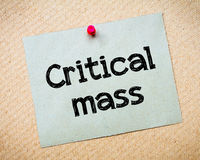 Critical Mass Stock Images