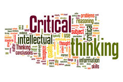 Critical Thinking Royalty Free Stock Photo