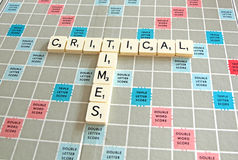 Critical Times Tiles Royalty Free Stock Photo
