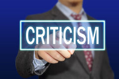 Criticism Concept Stock Images