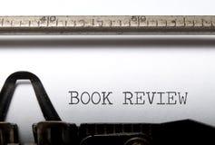 Critique de livre Photos stock