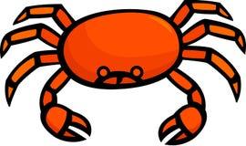 Critique despiadadamente crustáceo stock de ilustración