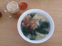 Critique la comida del special de Malasia del qie del mA del dao del mee Imagen de archivo