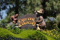 Critter kraj przy Disneyland Obrazy Stock