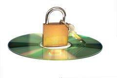 Crittografia e sicurezza di dati Fotografia Stock Libera da Diritti