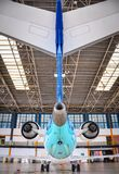 CRJ-1000尾巴  库存照片