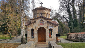 Crkva Sv Bogorodica i Sv Petka. In Saint Naum Macedonia Stock Photo