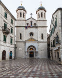 Crkva Svetog Nikole Church in Kotor Royalty Free Stock Images