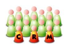CRM illustration de vecteur