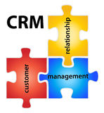 CRM illustration libre de droits