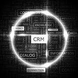 CRM Lizenzfreies Stockfoto