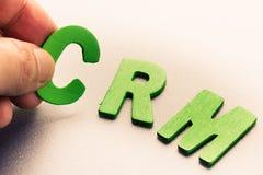 CRM Immagine Stock