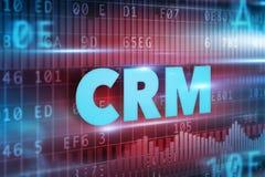 CRM - Abnehmer-Verhältnis-Management Stockfoto