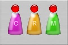 CRM-Bilder in Farbe 3 stockfotografie