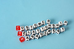 CRM Consumer Relationship Management Stock Photography