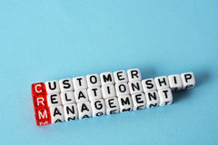 CRM Consumer Relationship Management Royalty Free Stock Photo