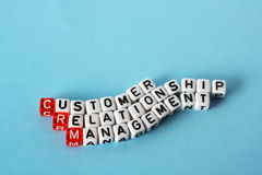 CRM Consumer Relationship Management Royalty Free Stock Photos