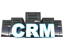 Crm or customer relation management Royalty Free Stock Photography