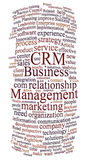 Crm customer relations management Royalty Free Stock Photo