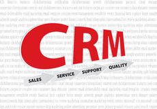 CRM. Customer relationship marketing concept Stock Photo