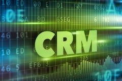 CRM - Gestione di rapporto del cliente Fotografia Stock Libera da Diritti