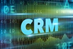 CRM - Gestione di rapporto del cliente Fotografia Stock