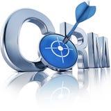 CRM ikona Fotografia Stock
