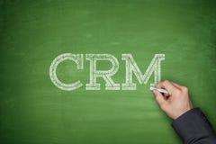 CRM - Management de rapport de propriétaire Images stock