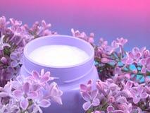 Crème corporelle Photographie stock