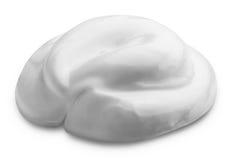 Crème d'isolement Image stock
