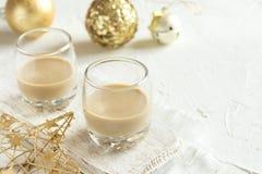Crème irlandaise pour Noël Photos stock