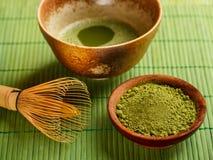 Cérémonie de thé japonaise Photographie stock